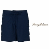 Coastline Navy Snappy Poplin Shorts by Tommy Bahama