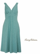 Azure Water Arden Jersey V Neck Dress by Tommy Bahama