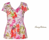 Ipanema Freesia Tee Shirt by Tommy Bahama