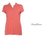 Burnt Coral Doheny Jersey Polo by Tommy Bahama