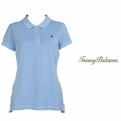 Soft Aqua Paradise Polo by Tommy Bahama
