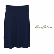 Coastline Navy Tambour Short Skirt by Tommy Bahama