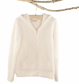 Barefoot Dreams� White CozyChic� Womens Hoodie