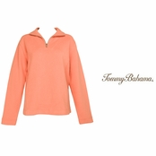 Dark Coral Aruba Zip by Tommy Bahama