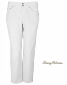 White Grammercy Denim Boyfriend Jeans by Tommy Bahama
