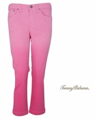 Rose Bed Grammercy Twill Dip Dye Crop Jeans by Tommy Bahama