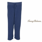 Sanibel Blue Bluff Terry Crop Pants by Tommy Bahama