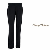 Black Mai Tai French Terry Pants by Tommy Bahama