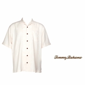 Coconut Ginko-tini Silk Camp Shirt by Tommy Bahama