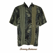 Man With The Golden Frond Silk Camp Shirt by Tommy Bahama