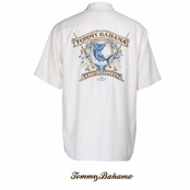 Coconut Liquid Assets Silk Signature Camp Shirt by Tommy Bahama