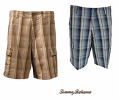 Plaidlantis Cargo Shorts by Tommy Bahama