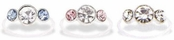 Crystal Beverly Hills Big Solitaire Toe Ring