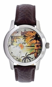 Mens Hawaiian Palms Watch RLX1147 by Tommy Bahama