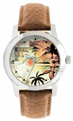 Mens Hawaiian Palms Watch RLX1148 by Tommy Bahama