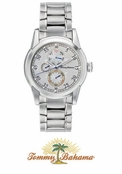 Men's Steel Horizon Watch TB3020 by Tommy Bahama