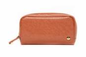 Main Street Orange Mini Pouch by Stephanie Johnson