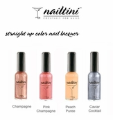 Champagne & Caviar Collection Straight Up Nail Lacquers by Nailtini