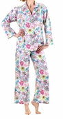 BedHead Pink Mum Poplin Basic PJ for Women