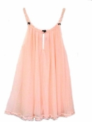 Blush Double Layer Tricot Slip by Betsey Johnson