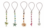 Swarovski Crystal Tropical Cell Phone Charm