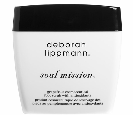 Soul Mission Grapefruit Foot Scurb by Deborah Lippmann
