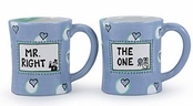 Mr. Right and The One Mug Set