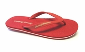 Red Zumi Flip Flop Sandals for Men by Tommy Bahama