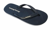 Navy Zumi Flip Flop Sandals for Men by Tommy Bahama