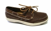 Captain Leather Boat Shoes for Men by Tommy Bahama