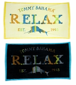 Relax Stripe Cotton Terry Beach Towel by Tommy Bahama