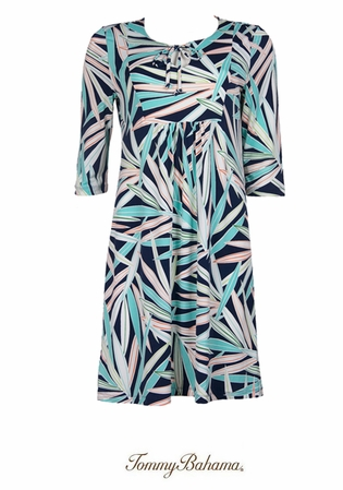Polynesian Palm Frond Dress by Tommy Bahama