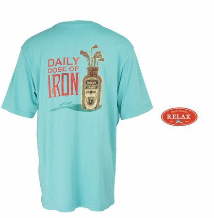 Hawaiian Surf Daily Dose of Iron Tee by Tommy Bahama