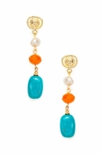 Retro Drop Earrings by Spring Street