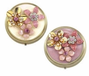 Floral Blush Pill Box by Spring Street