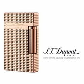 Ligne 2 Pink Gold Diamond Head Lighter by S.T. Dupont