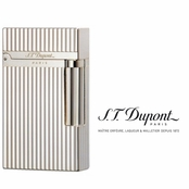 Ligne 2 Silver Plated Vertical Lines Lighter by S.T. Dupont