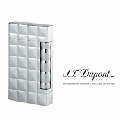 Ligne D Compact Powder Palladium Lighter by S.T. Dupont