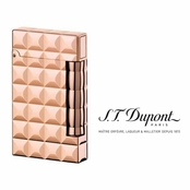 Ligne D Compact Powder Pink Gold  Lighter by S.T. Dupont