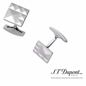 Palladium Diamond Head Cuff Links by S.T. Dupont
