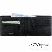 Nocturne Collection Black Calfskin Wallet by S.T. Dupont