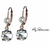 Swarovski Crystal Moonlight Drop Leverback Earrings by Liz Palacios