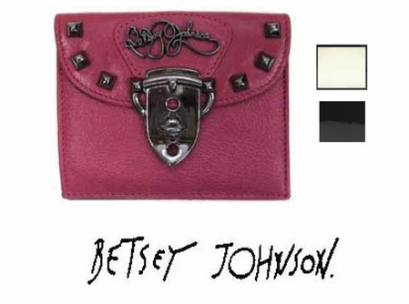 Strap 'Em Down Tab Wallet by Betsey Johnson