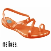 Coral Paradise Sandals by Melissa Plastic Dreams