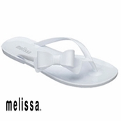 White Melissa Cute Sandals