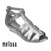 Silver Melissa Liberty Sandals