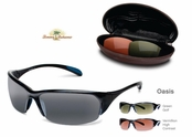 Loredo Bay Sunglasses With Interchangeable Lenses by Tommy Bahama