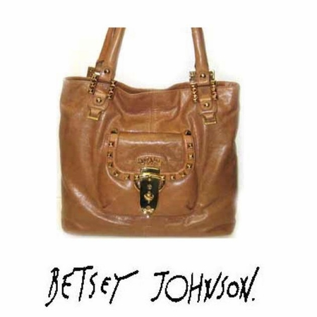 Strap 'Em Down Tote by Betsey Johnson