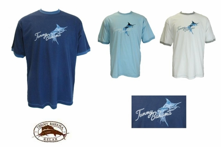 Splashing Marlin Short Sleeve Tee by Tommy Bahama