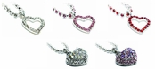 Crystal Heart Ankle Bracelet